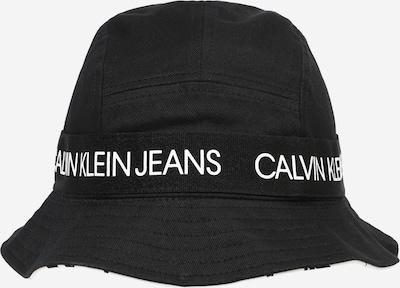 Calvin Klein Jeans Hoed in de kleur Zwart / Wit, Productweergave