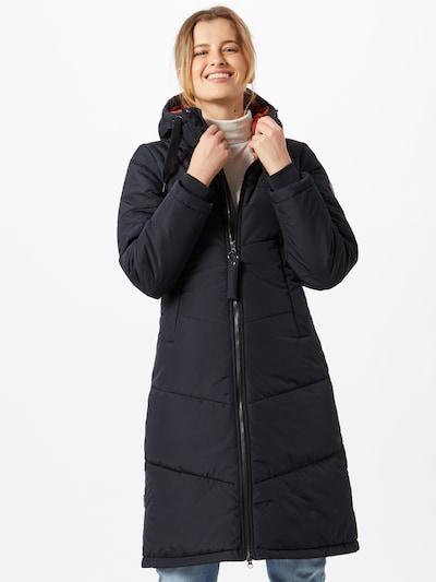 Iriedaily Zimski plašč | črna barva, Prikaz modela