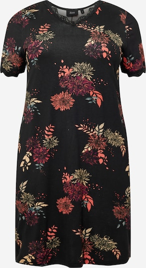 Zizzi Dress 'DELICATE' in Mixed colors / Black, Item view