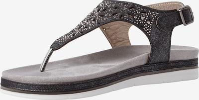 JANA Sandale in schwarz, Produktansicht