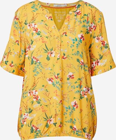 CECIL Blouse in de kleur Geel / Gemengde kleuren, Productweergave