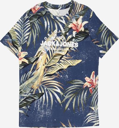 Jack & Jones Junior Shirt 'Pop' in de kleur Marine / Lichtgeel / Olijfgroen / Mintgroen / Wijnrood, Productweergave