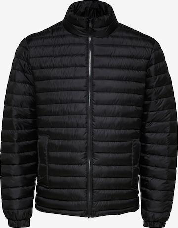 SELECTED HOMME Between-season jacket in Black