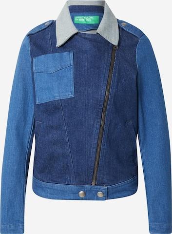 UNITED COLORS OF BENETTON Overgangsjakke i blå