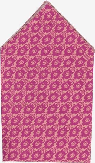 Hans Hermann Einstecktuch 'Tante Carla' in pink / dunkelpink, Produktansicht