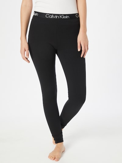Calvin Klein Underwear Legíny - černá / bílá, Model/ka