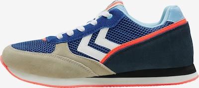 hummel hive Sneaker in ecru / nachtblau / royalblau / hellblau / weiß, Produktansicht
