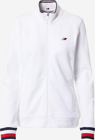 Bluză cu fermoar sport Tommy Sport pe navy / roșu / alb, Vizualizare produs