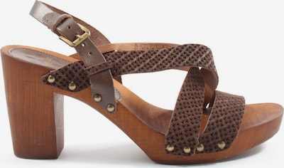SANSIBAR Riemchen-Sandaletten in 41 in braun, Produktansicht