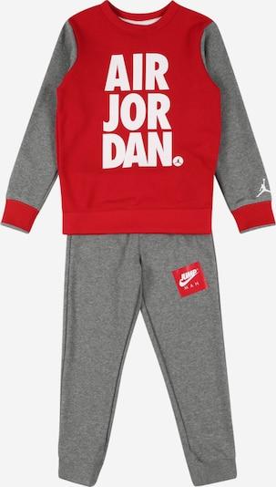 Jordan Zestaw 'JUMPMAN' w kolorze ciemnoszary / czerwony / białym, Podgląd produktu