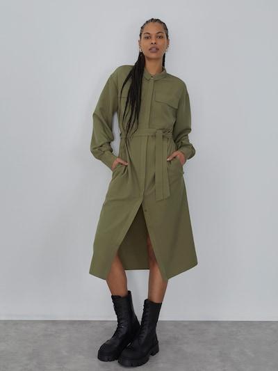 LeGer by Lena Gercke Kleid 'Clara' in khaki, Modelansicht