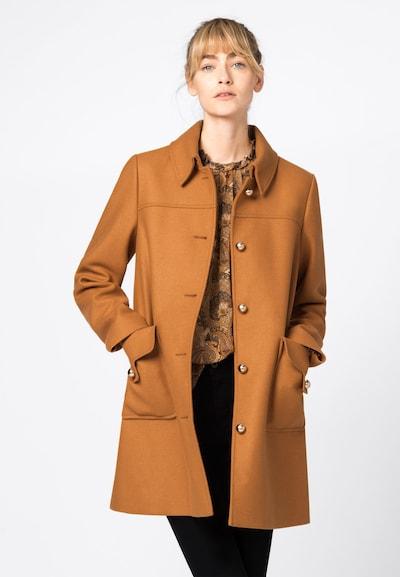 HALLHUBER Mantel in honig, Modelansicht