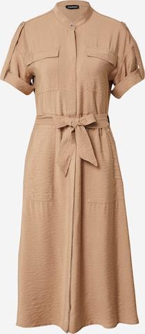 TAIFUN Kleid in Braun