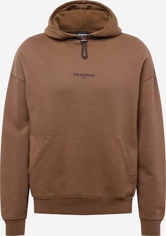 Sweat-shirt The Kooples en marron