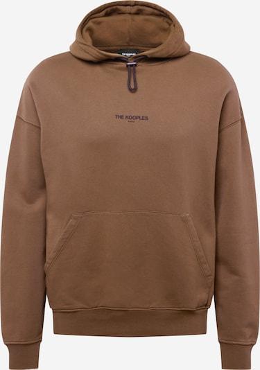 The Kooples Sweatshirt in braun / schwarz, Produktansicht