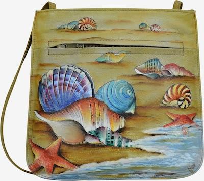 ANUSCHKA Umhängetasche 'Gift of the Sea' aus handbemaltem Leder in mischfarben, Produktansicht