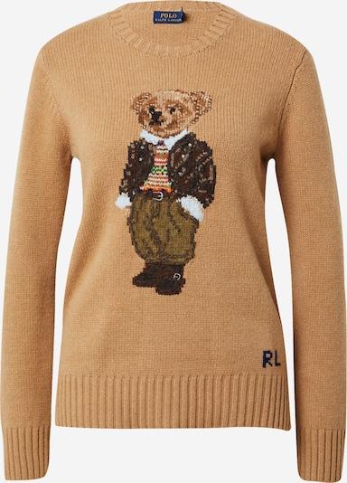 POLO RALPH LAUREN Pulover 'Bear' | bež barva, Prikaz izdelka