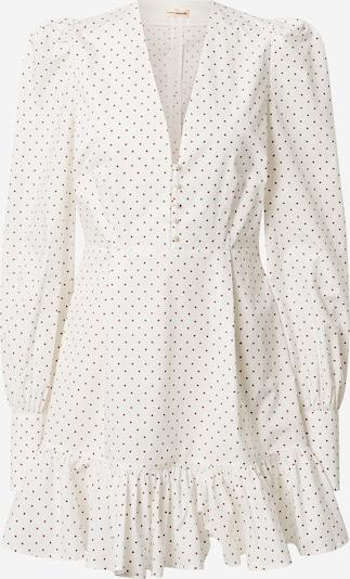 Custommade Robe-chemise 'Lura' en marron / blanc naturel, Vue avec produit