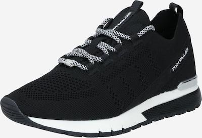Sneaker low TOM TAILOR pe negru / alb, Vizualizare produs