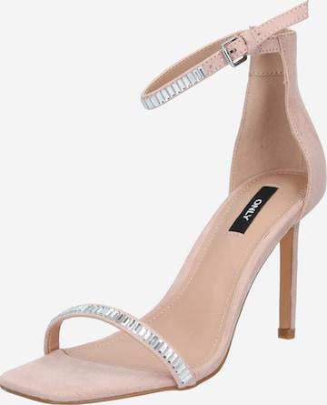 ONLY Sandalettte in Pink