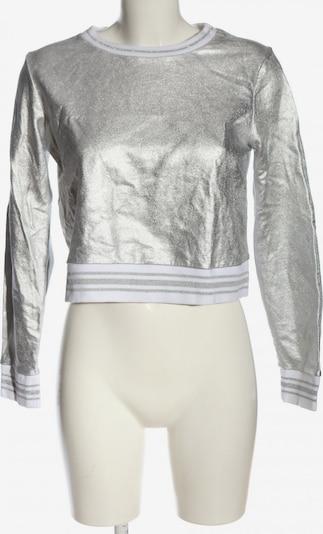 Forever 21 Sweatshirt in M in silber, Produktansicht
