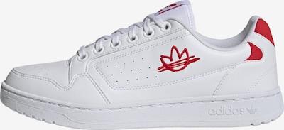ADIDAS ORIGINALS Sneaker 'NY 90' in rot / weiß, Produktansicht