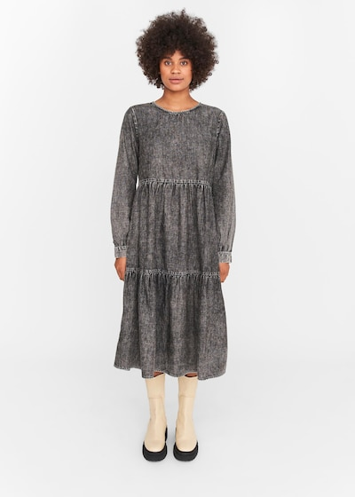Noisy may Dress 'Cille' in Grey, View model