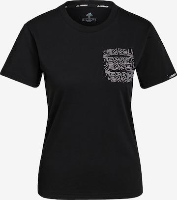 adidas Terrex Performance Shirt in Black