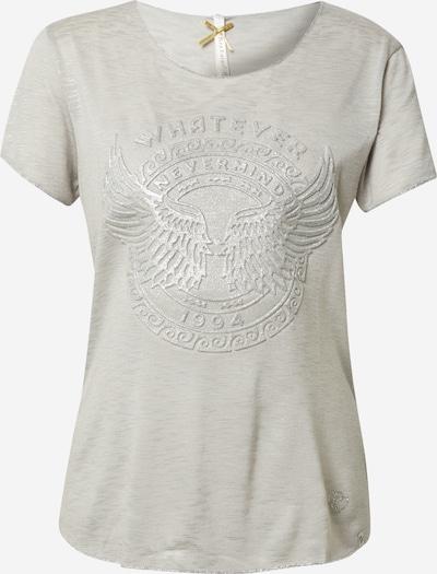Key Largo Shirt 'PHILOSOPHY' en silbergrau / hellgrau, Vue avec produit