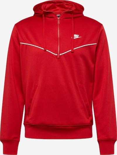 Nike Sportswear Mikina - červená / biela, Produkt