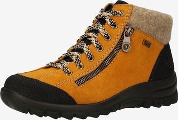 Boots RIEKER en jaune