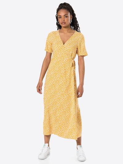 OBJECT Wickelkleid 'OBJELISE' in gelb / weiß, Modelansicht