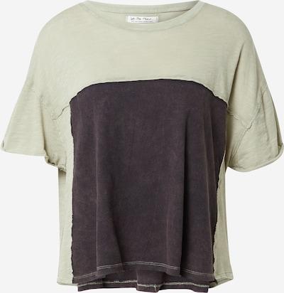 Free People Shirt in de kleur Antraciet / Mintgroen, Productweergave