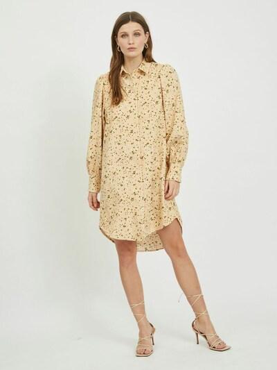 VILA Kleid in gelb / oliv / pfirsich / melone / weiß, Modelansicht