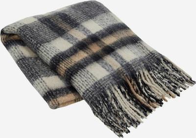 OBJECT Schal in beige / blau / braun / schwarz, Produktansicht