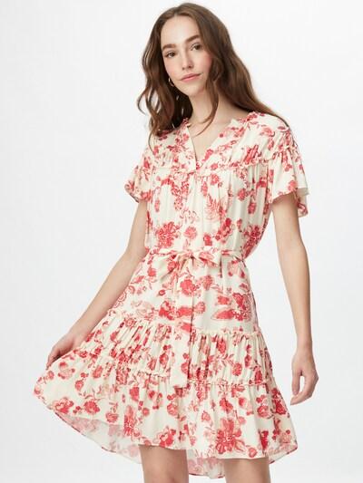 Rochie de vară Trendyol pe roșu / alb, Vizualizare model