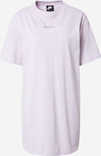 Nike Sportswear Рокля в пастелнолилаво / сребърно / бяло, Преглед на продукта