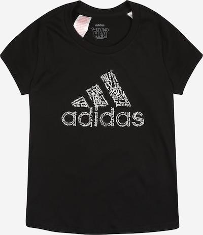 ADIDAS PERFORMANCE Koszulka funkcyjna 'Bos' w kolorze czarny / białym, Podgląd produktu