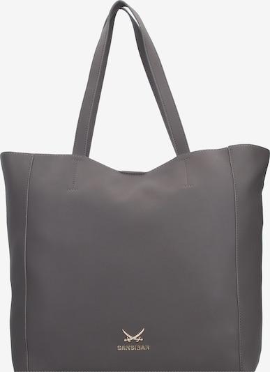 SANSIBAR Shopper in grau, Produktansicht