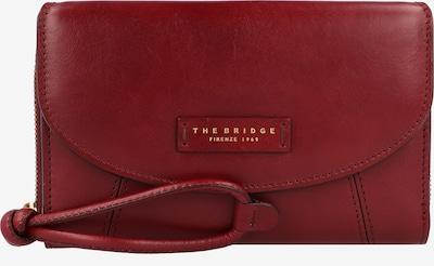 The Bridge Portemonnaie 'Camilla' in gold / dunkelrot, Produktansicht