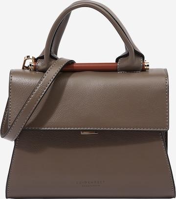 Seidenfelt Manufaktur Дамска чанта 'Skruv' в сиво