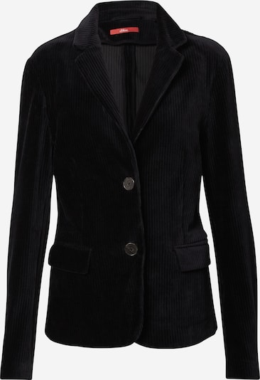 s.Oliver Blazer in schwarz, Produktansicht