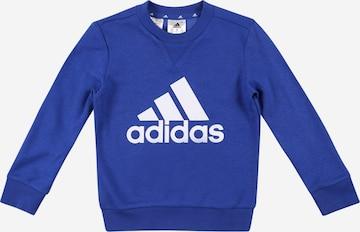 ADIDAS PERFORMANCE Sportsweatshirt in Blau