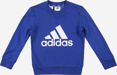 ADIDAS PERFORMANCE Sportsweatshirt in blau / weiß, Produktansicht