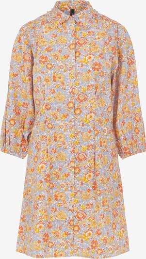 Y.A.S Kleid 'Mani' in hellblau / hellorange / dunkelorange / hellpink / weiß, Produktansicht