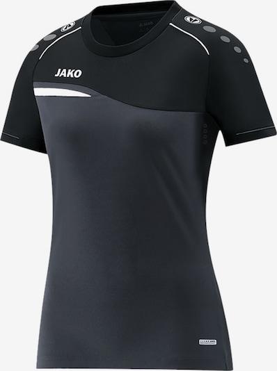 JAKO T-Shirt in grau / schwarz, Produktansicht