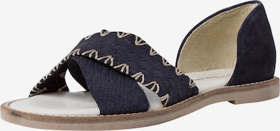 TAMARIS Sandal in Beige / Dark blue, Item view