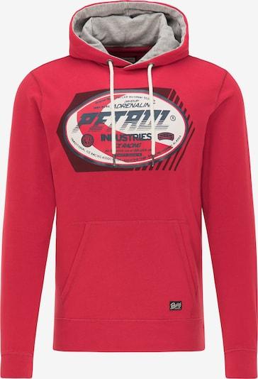 Petrol Industries Sweater majica u petrol / crvena / crna / bijela, Pregled proizvoda