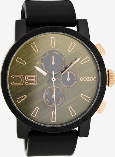 OOZOO Quarzuhr »C7874« in gold / schwarz, Produktansicht
