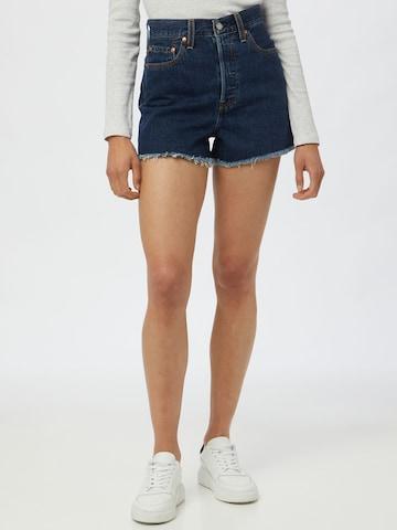 LEVI'S Jeans 'RIBCAGE' i blå